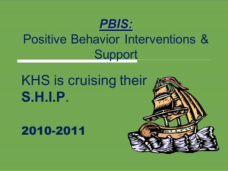 PBIS: Positive Behavior Interventions & Support