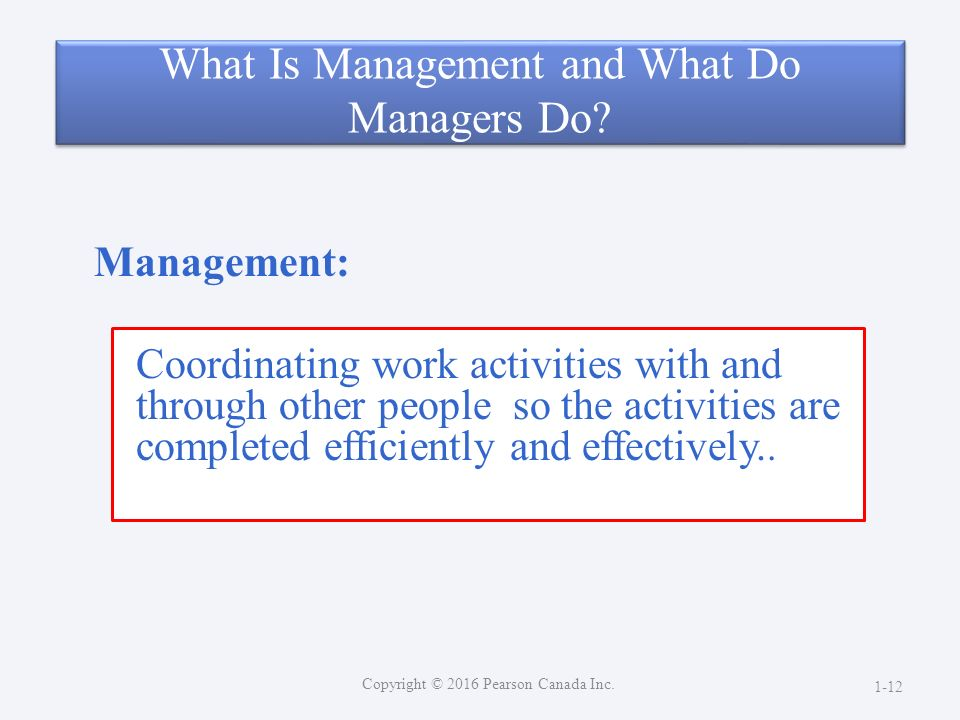 introduction to management and organizations pdf