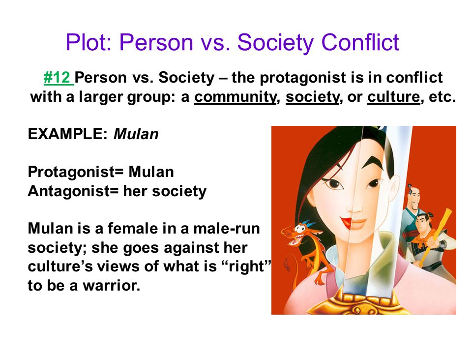 person vs society conflict in 1984 Get an answer for 'how would you describe the conflict of man vs society in 1984 ' and find homework help for other 1984 questions at enotes.