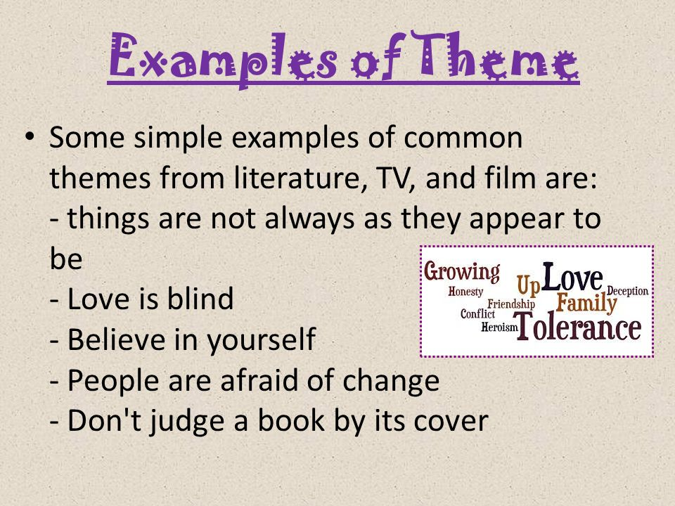 love as the most common themes in literature 12 most common themestep charter school 5 grade ela th in literature 1   love is the worthiest of pursuits: many writers create stories with the idea that.