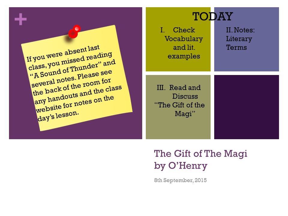 The Gift Of The Magi Essay