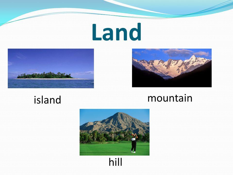 Land mountain island hill