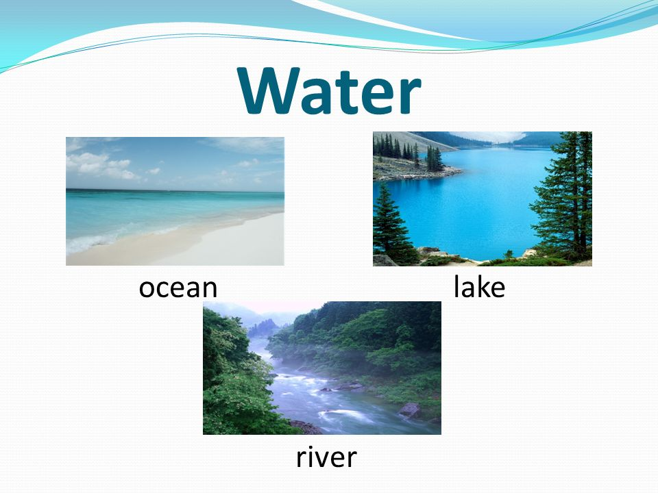 Water ocean lake river
