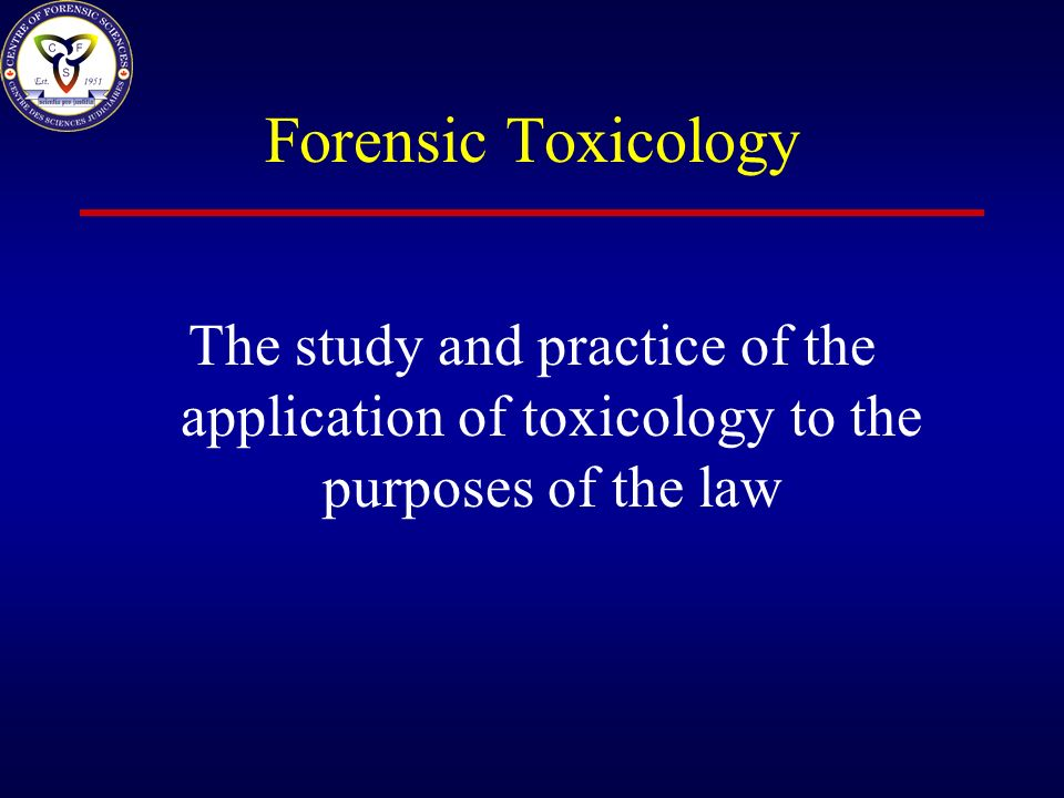 The History of Toxicology