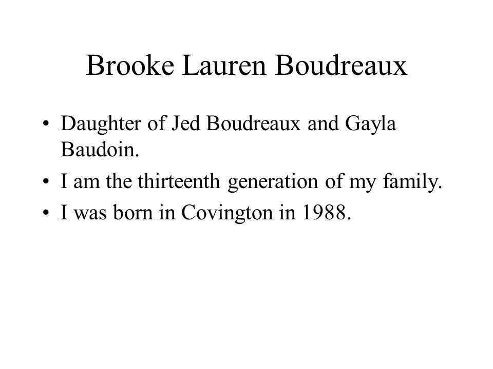 Brooke Lauren Boudreaux