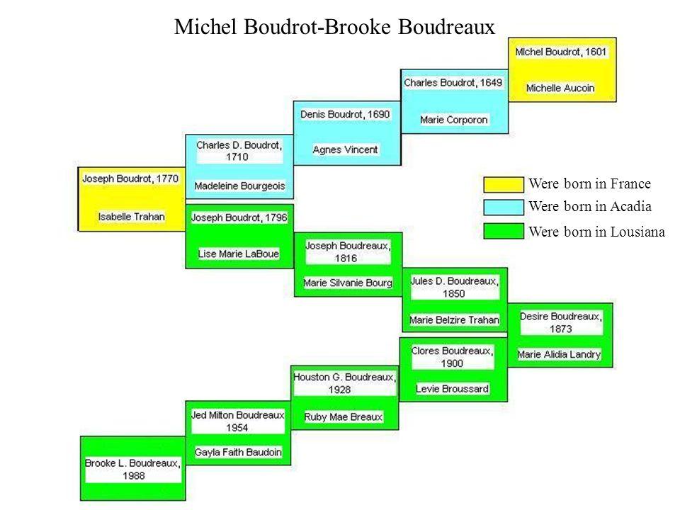 Michel Boudrot-Brooke Boudreaux