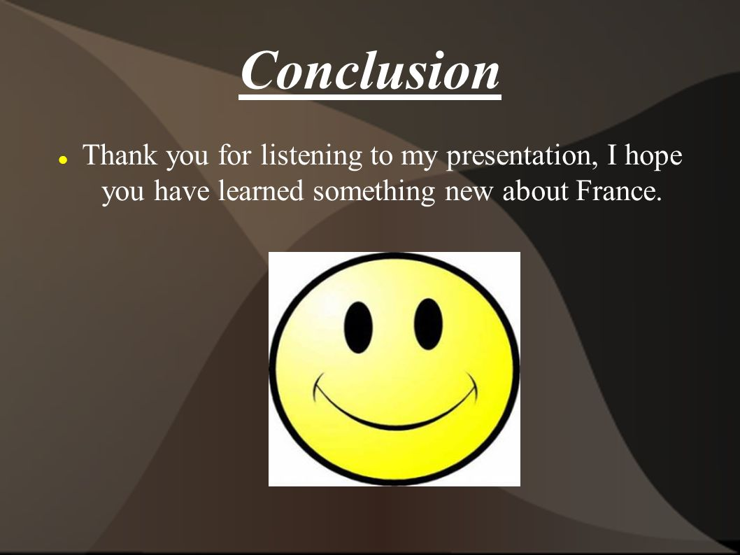 how to say thank you for listening in french