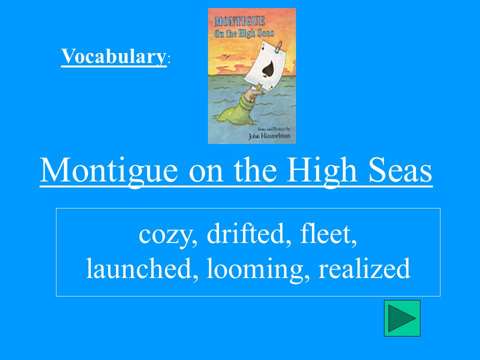 Montigue on the High Seas