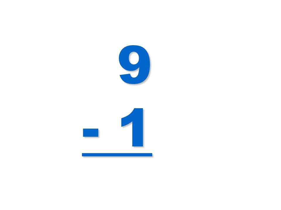 9 - 1