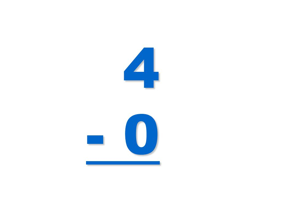 4 - 0