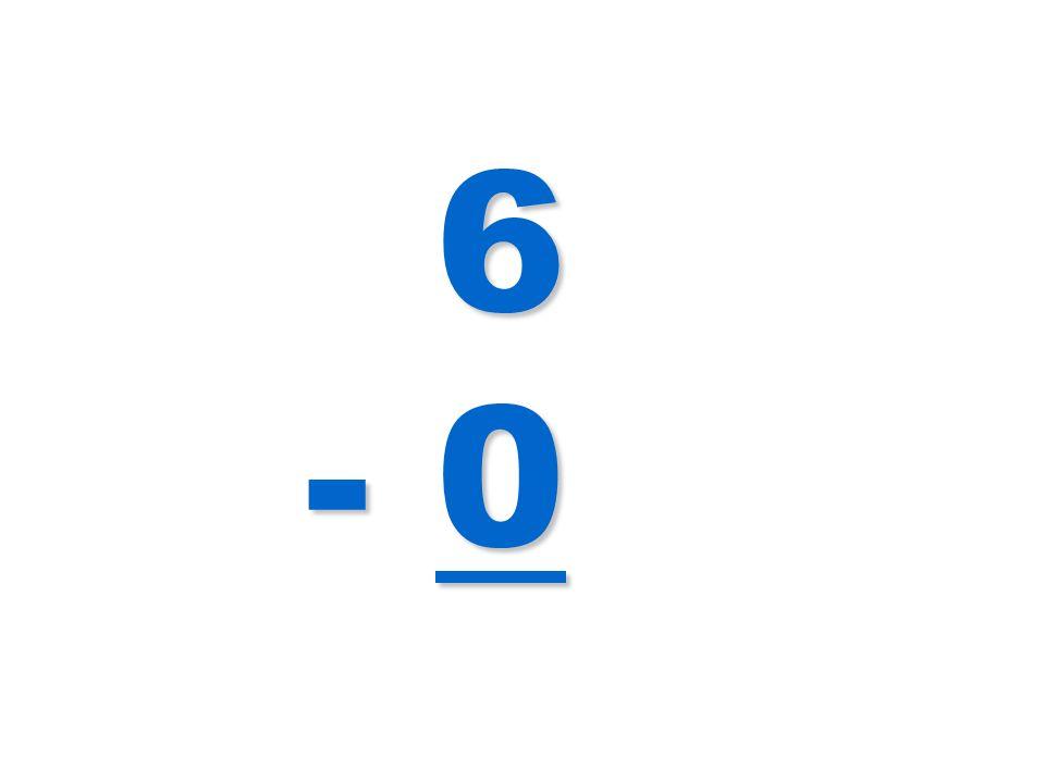 6 - 0