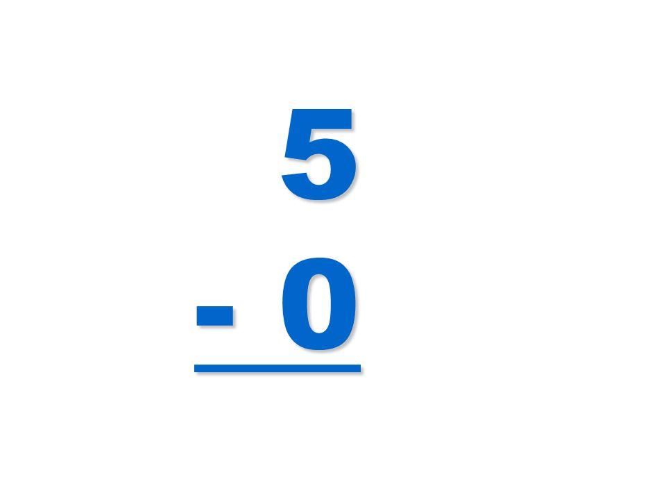 5 - 0