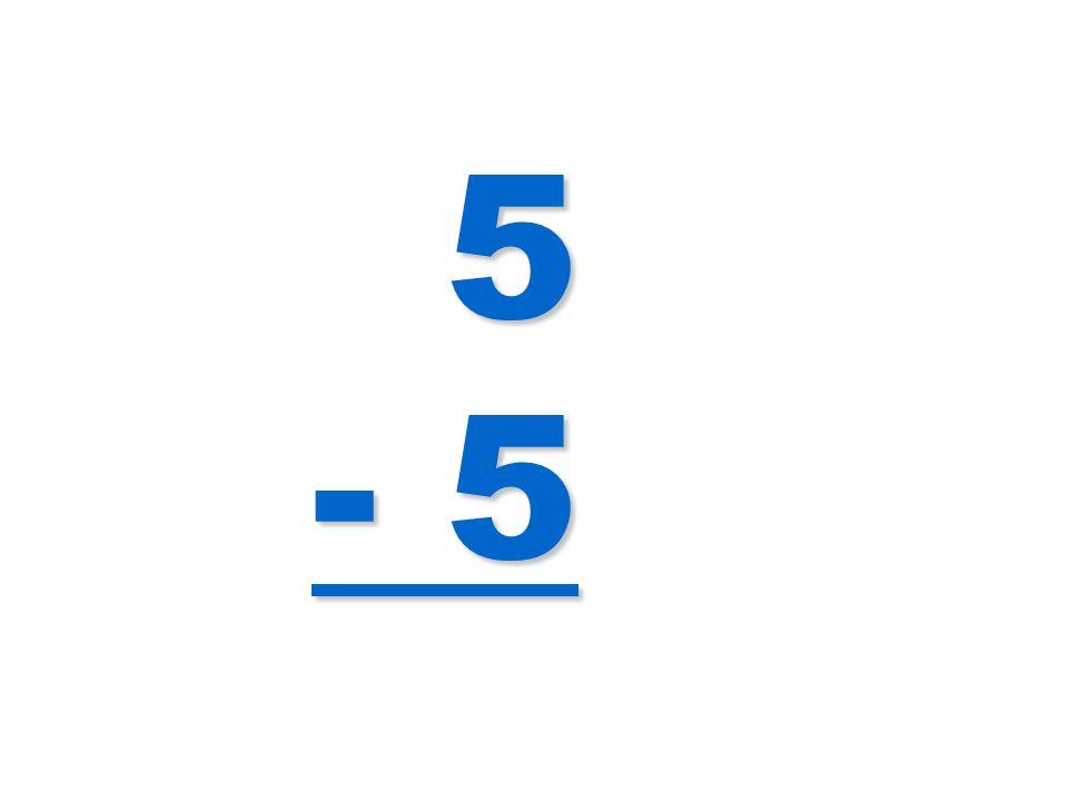 5 - 5