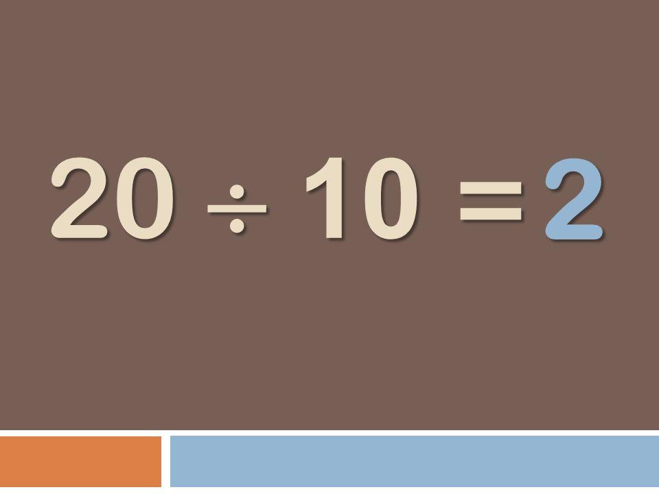 2 20  10 =