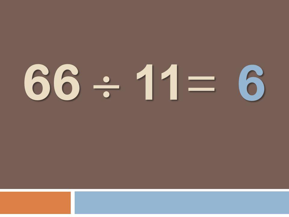 6 66  11=