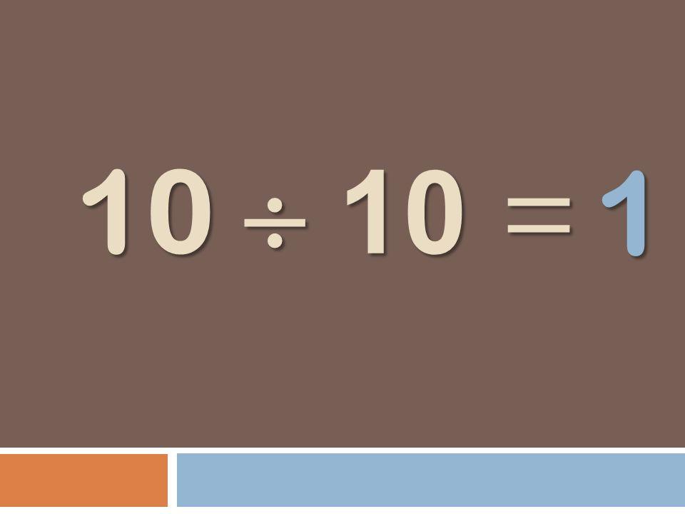1 10  10 =