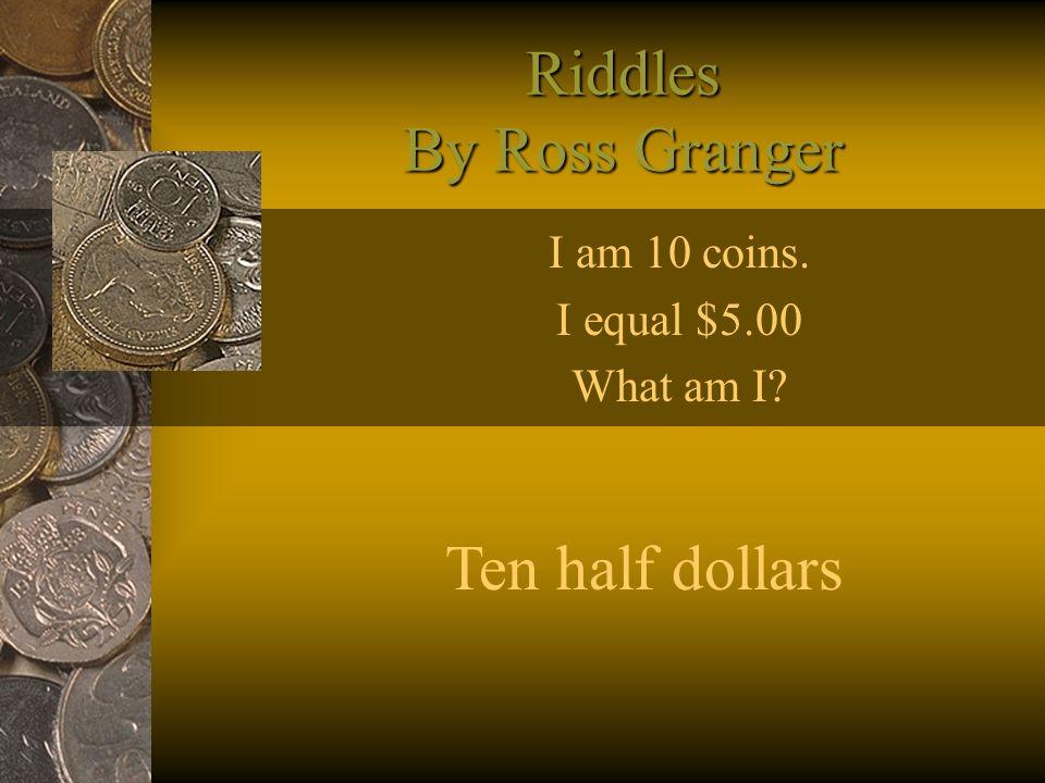 Riddles By Ross Granger