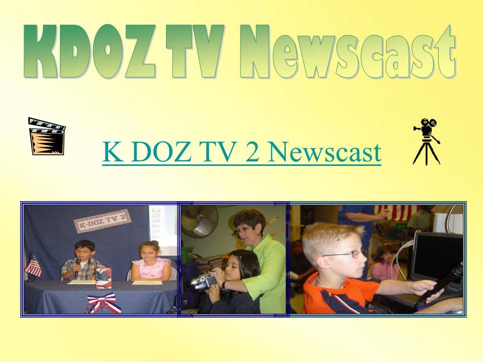 KDOZ TV Newscast K DOZ TV 2 Newscast