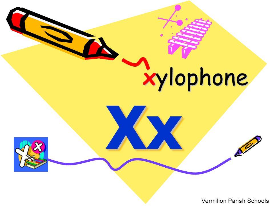 xylophone Xx Vermilion Parish Schools