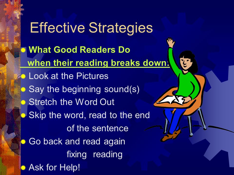 Effective Strategies What Good Readers Do