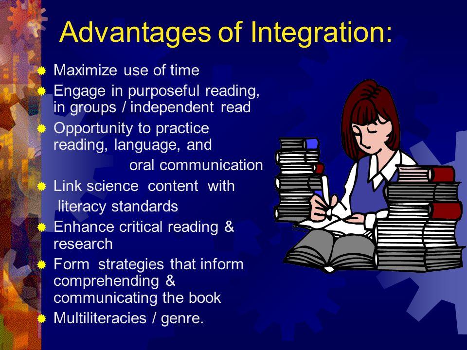 Advantages of Integration: