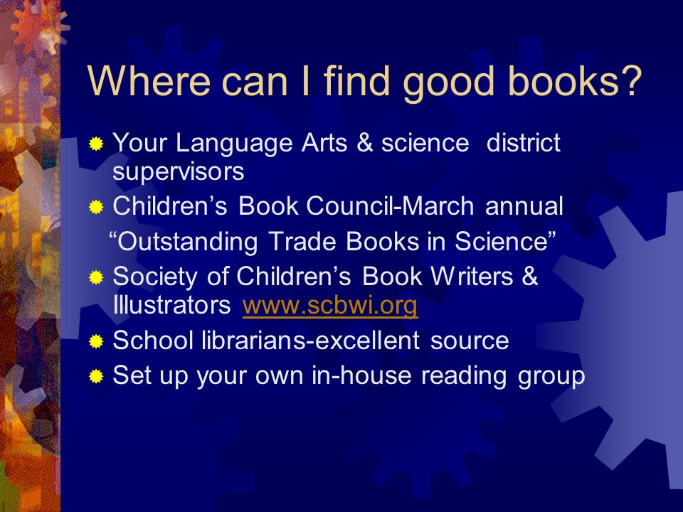 Where can I find good books
