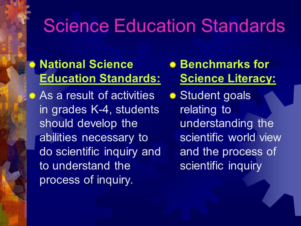 Science Education Standards