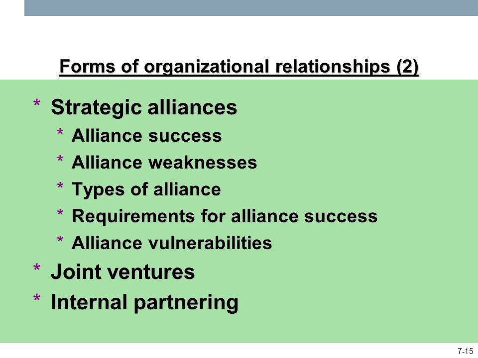 joint ventures and strategic alliances of wal mart Encyclopedia of business, 2nd ed joint ventures and strategic alliances: int-loc.