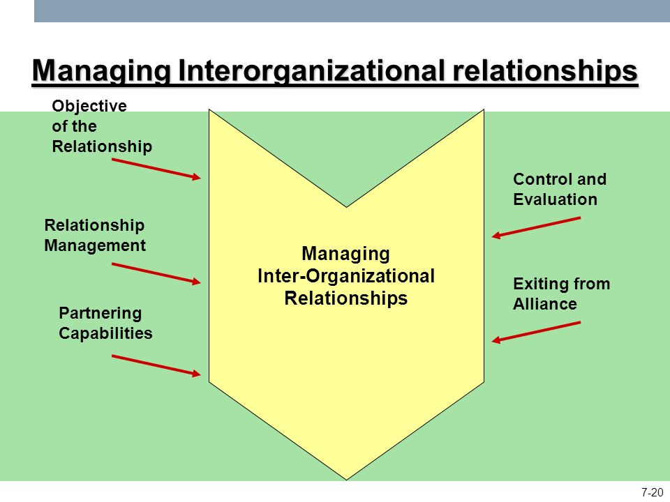 Forms of Interorganizational Relations