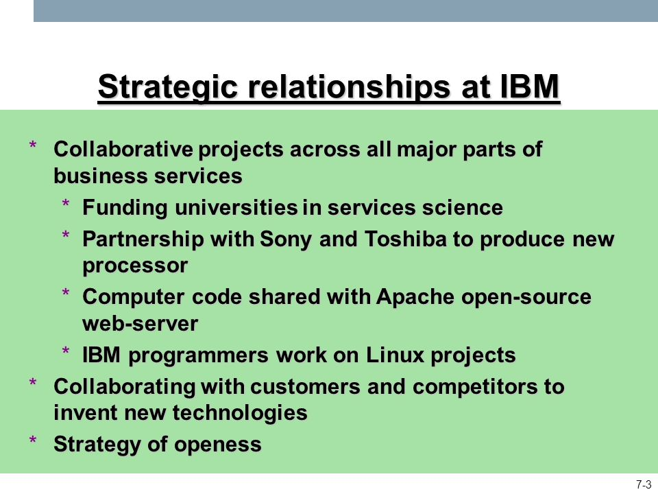 ibm and relationship marketing