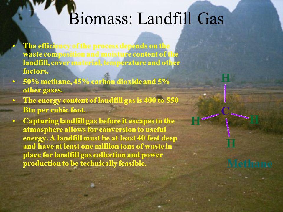 Biomass: Landfill Gas