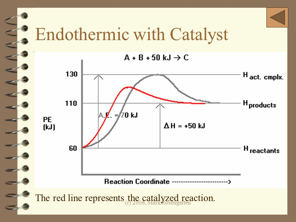 Endothermic with Catalyst