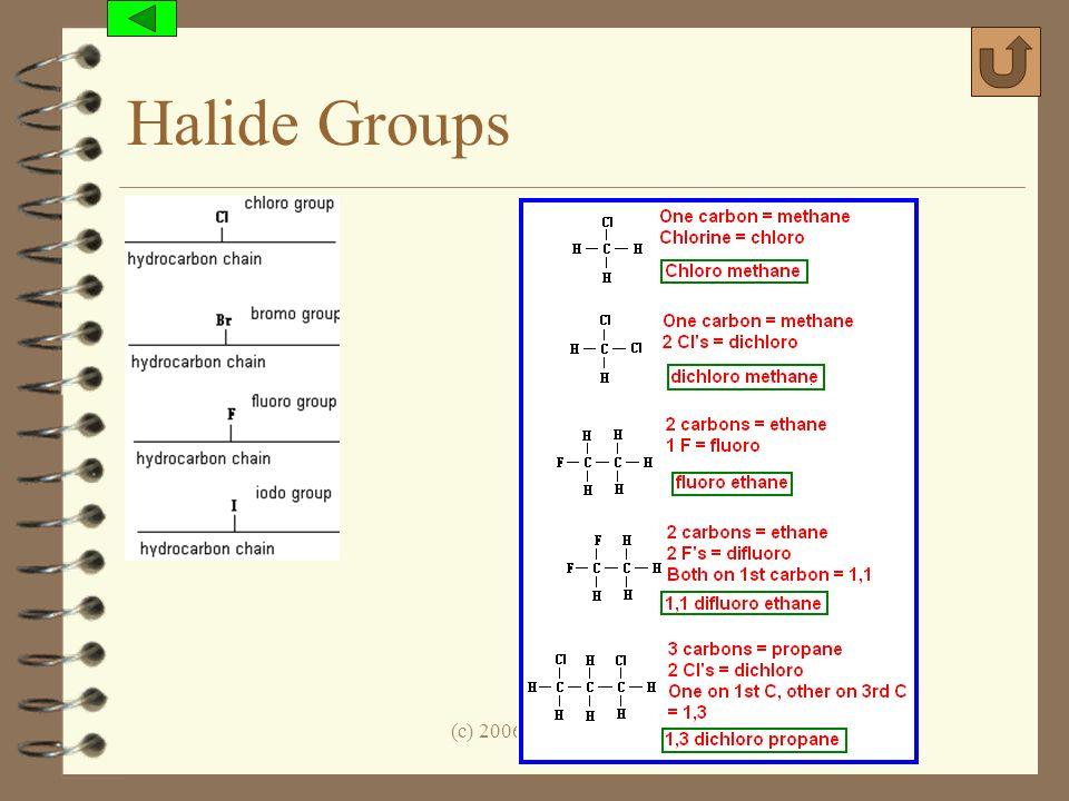 Halide Groups (c) 2006, Mark Rosengarten
