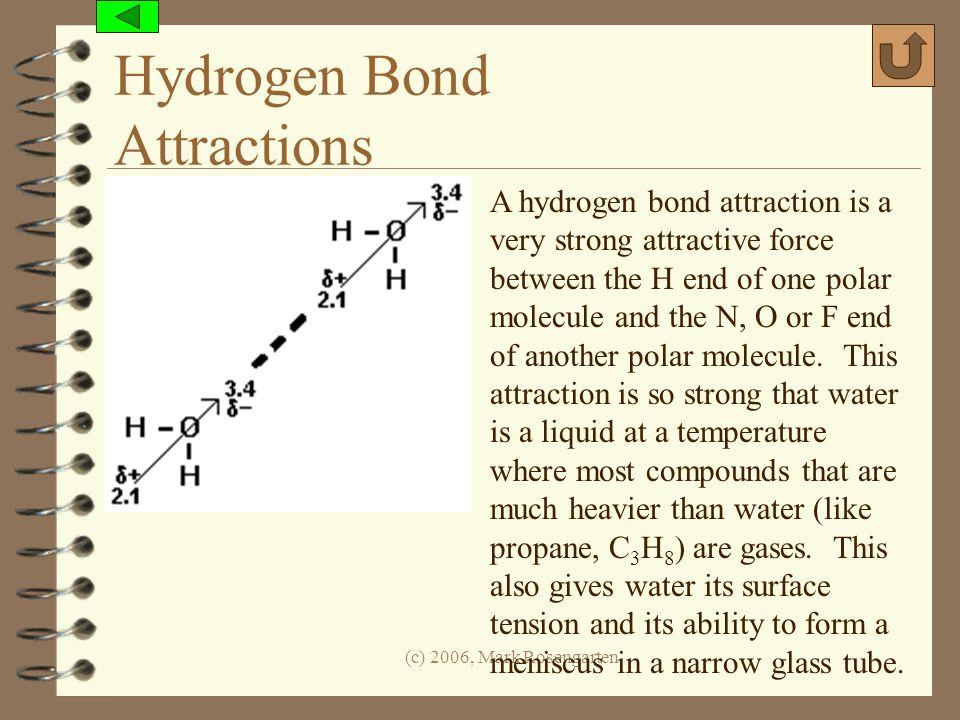 Hydrogen Bond Attractions