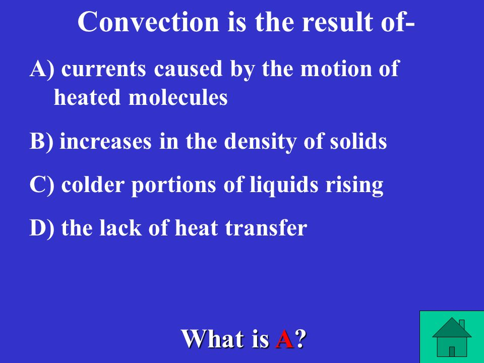 Convection is the result of-