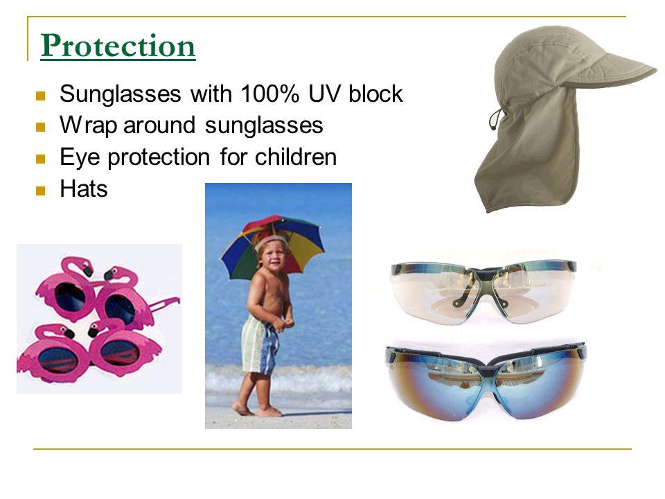 Protection Sunglasses with 100% UV block Wrap around sunglasses