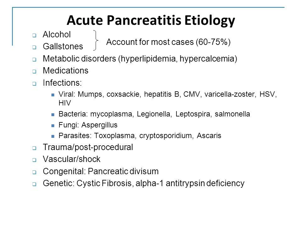 case study patient with acute and recurrent pancreatitis The acute pancreatitis (acute hemorrhagic pancreatic necrosis) for cases of acute or chronic pancreatitis (depleted acinar cell mass) and hypertriglyceridemia all patients in the study received an ultrasound twice which may have influenced allocation of co-interventions.