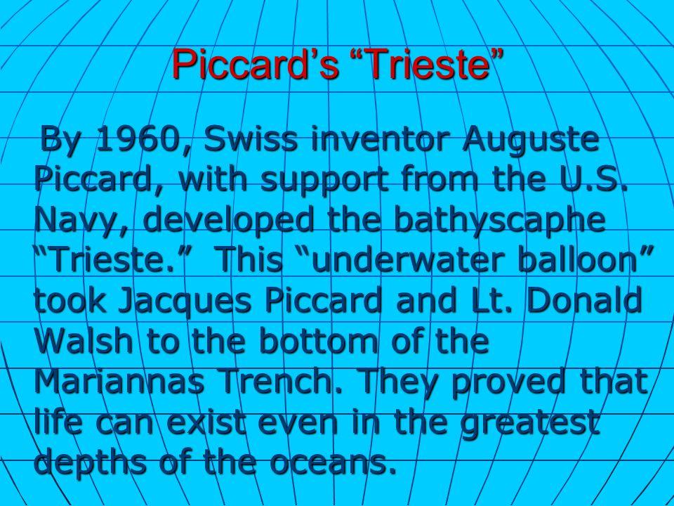 Piccard's Trieste