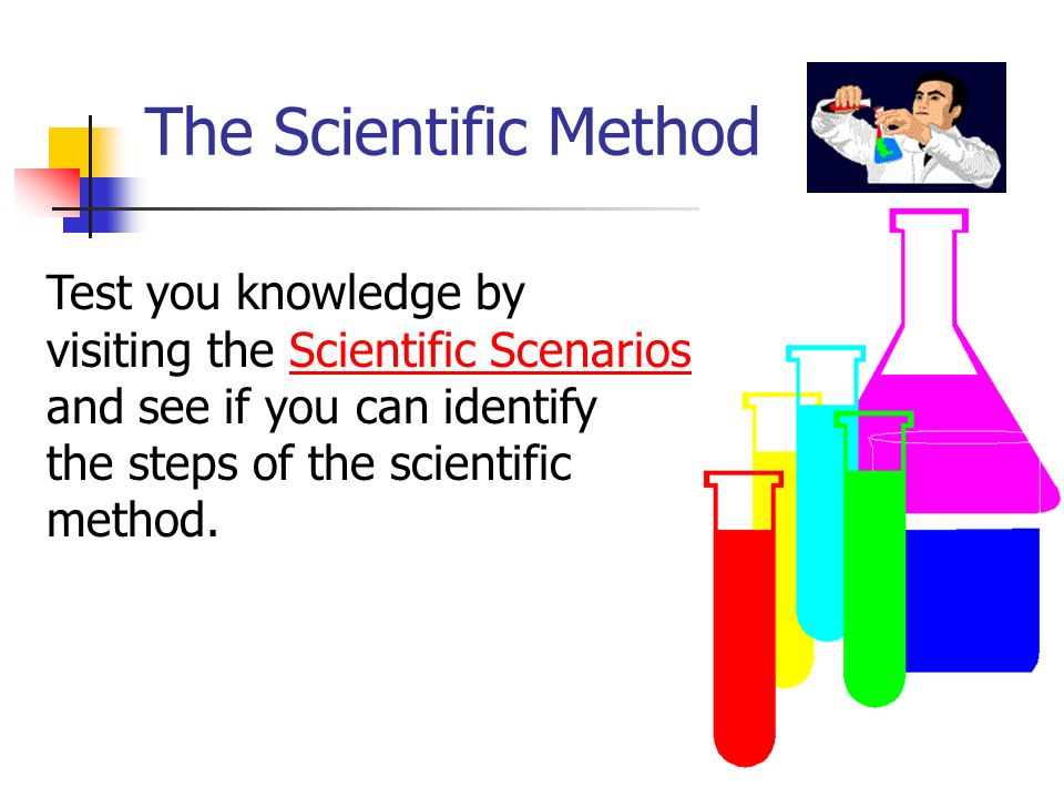 The Scientific Method Test you knowledge by