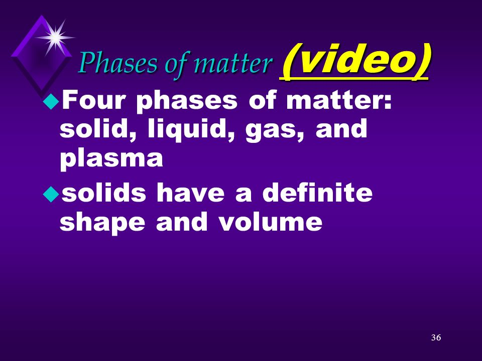 Phases of matter (video)