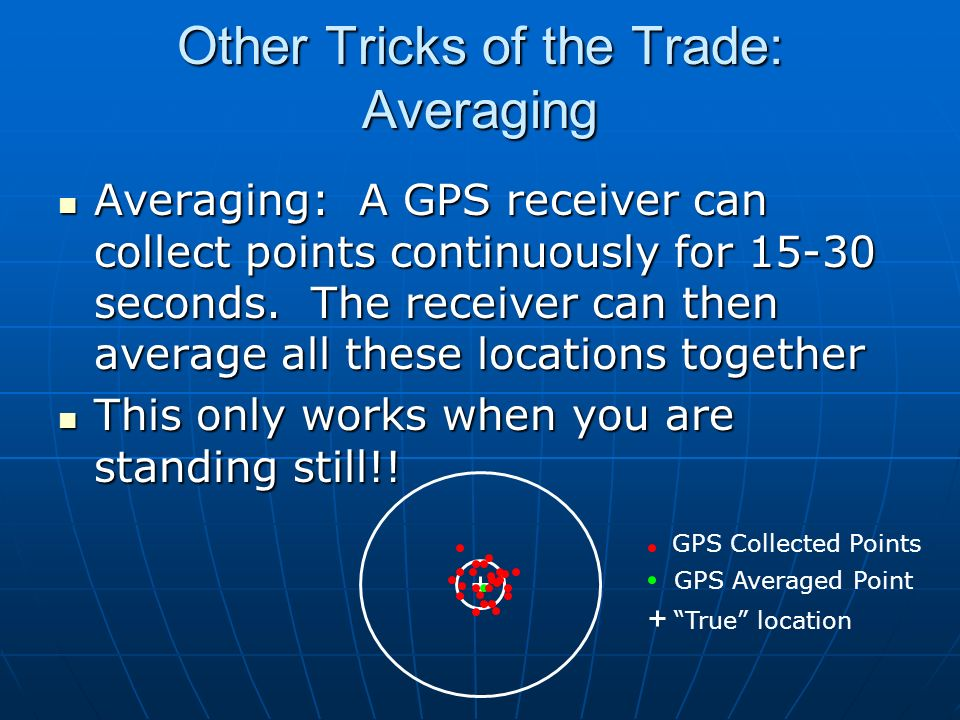 Other Tricks of the Trade: Averaging