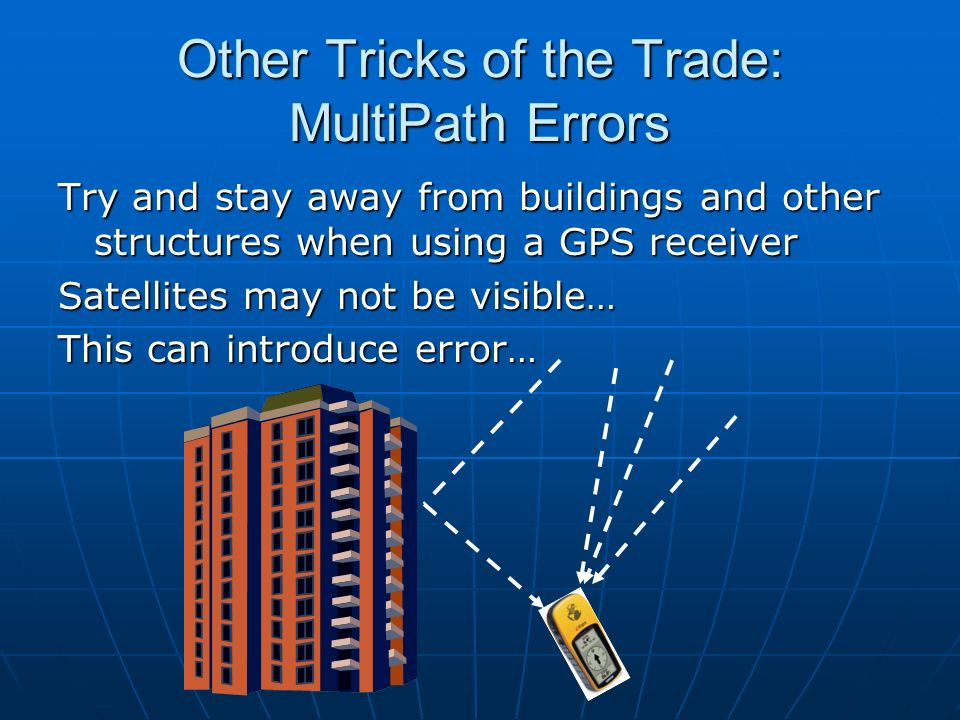 Other Tricks of the Trade: MultiPath Errors