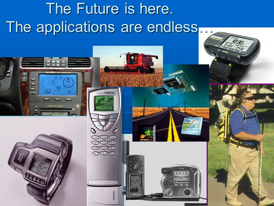The Future is here. The applications are endless…