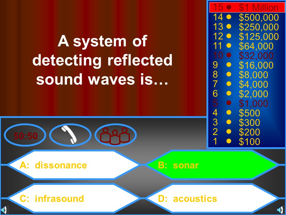 A system of detecting reflected sound waves is…