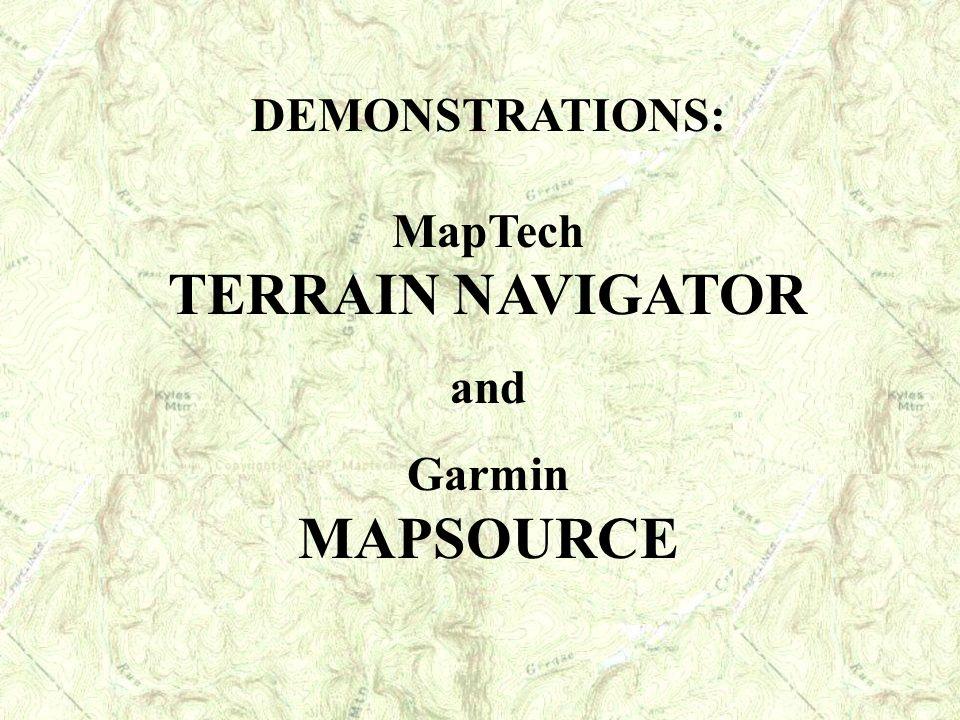 MapTech TERRAIN NAVIGATOR