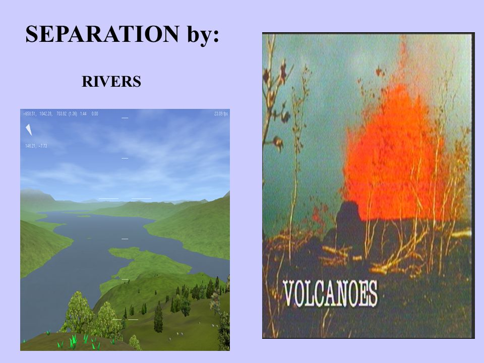 SEPARATION by: RIVERS