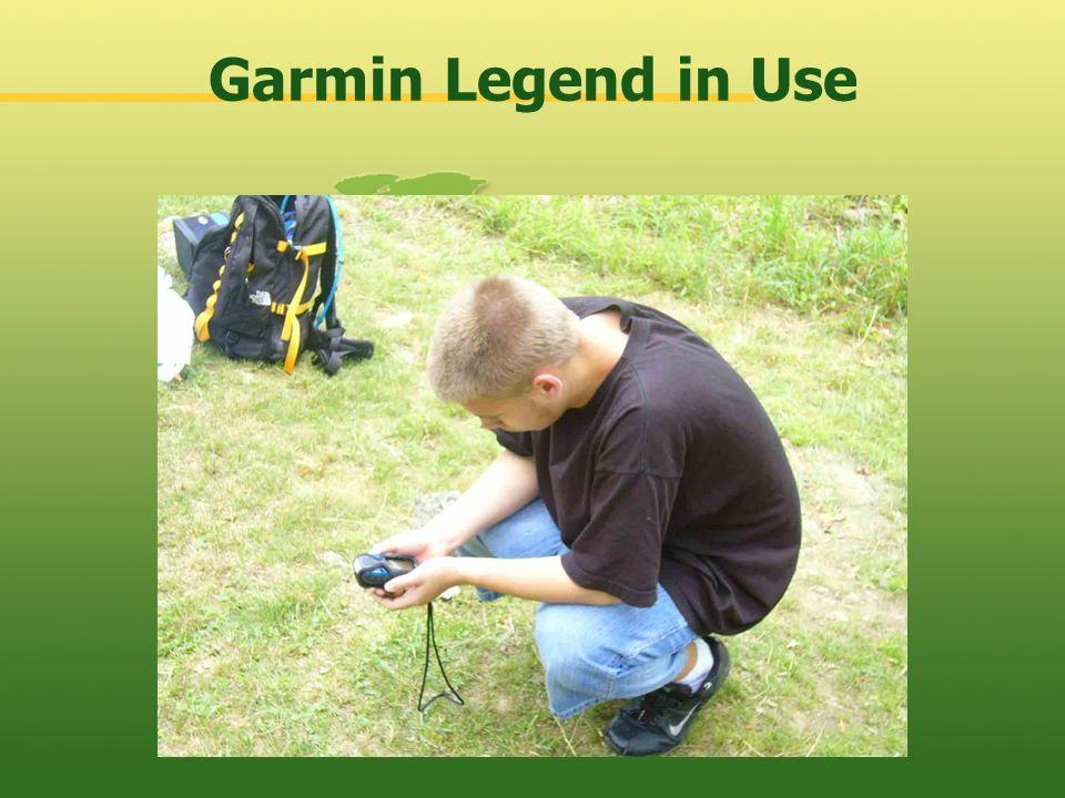 Garmin Legend in Use