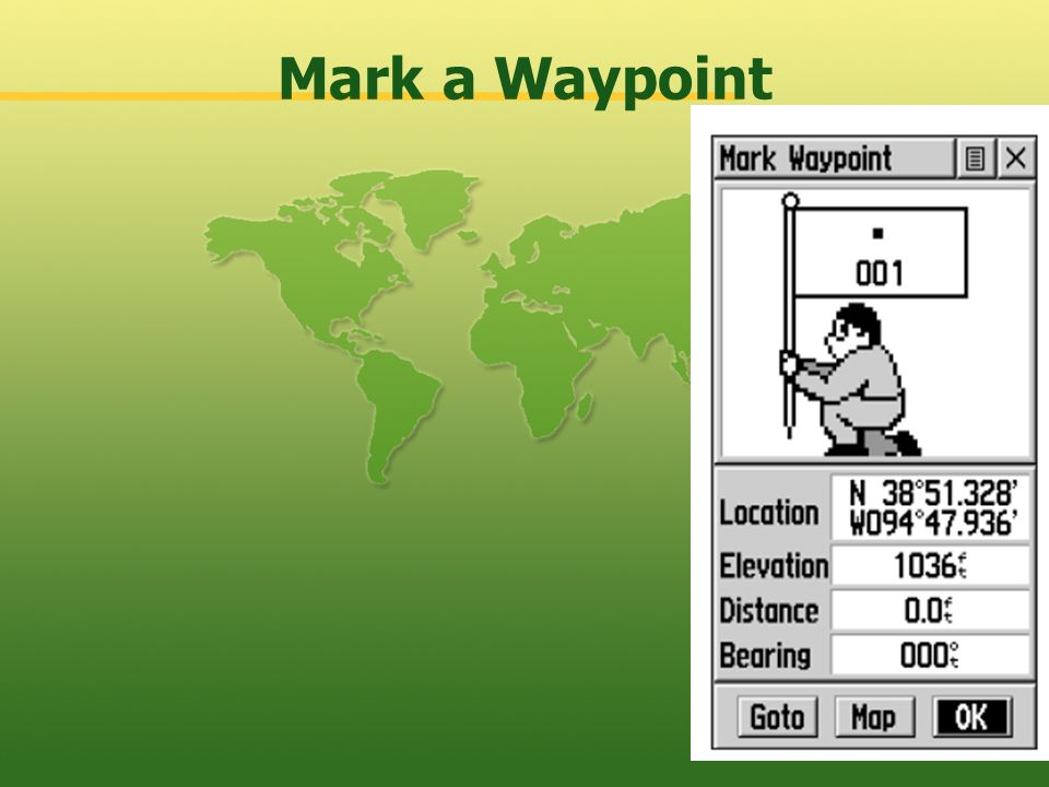 Mark a Waypoint