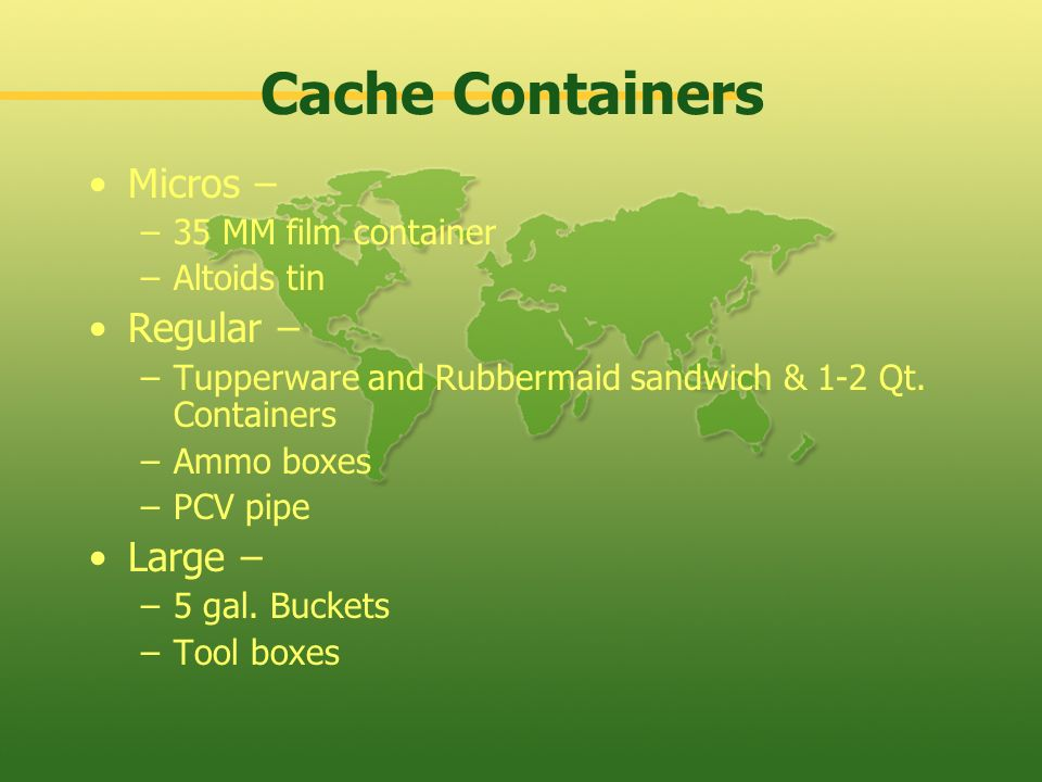 Cache Containers Micros – Regular – Large – 35 MM film container