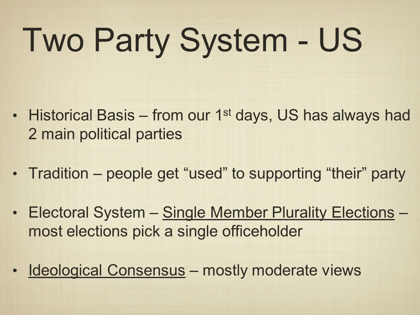 a response to maurice duvegers article electoral basis of the two party system The number of parties by: maurice duverger the importance of the electoral system as a technical kind the two-party system coexists with the single-majority.